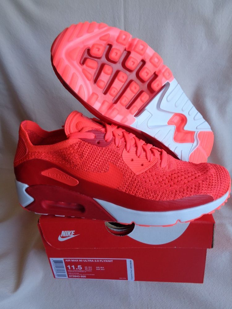 premium selection 40c53 bf7ad NIKE AIR MAX 90 ULTRA 2.0 FLYKNIT-Mens Running Shoe-Bright Crimson-US Mens  11.5  fashion  clothing  shoes  accessories  mensshoes  athleticshoes (ebay  link)