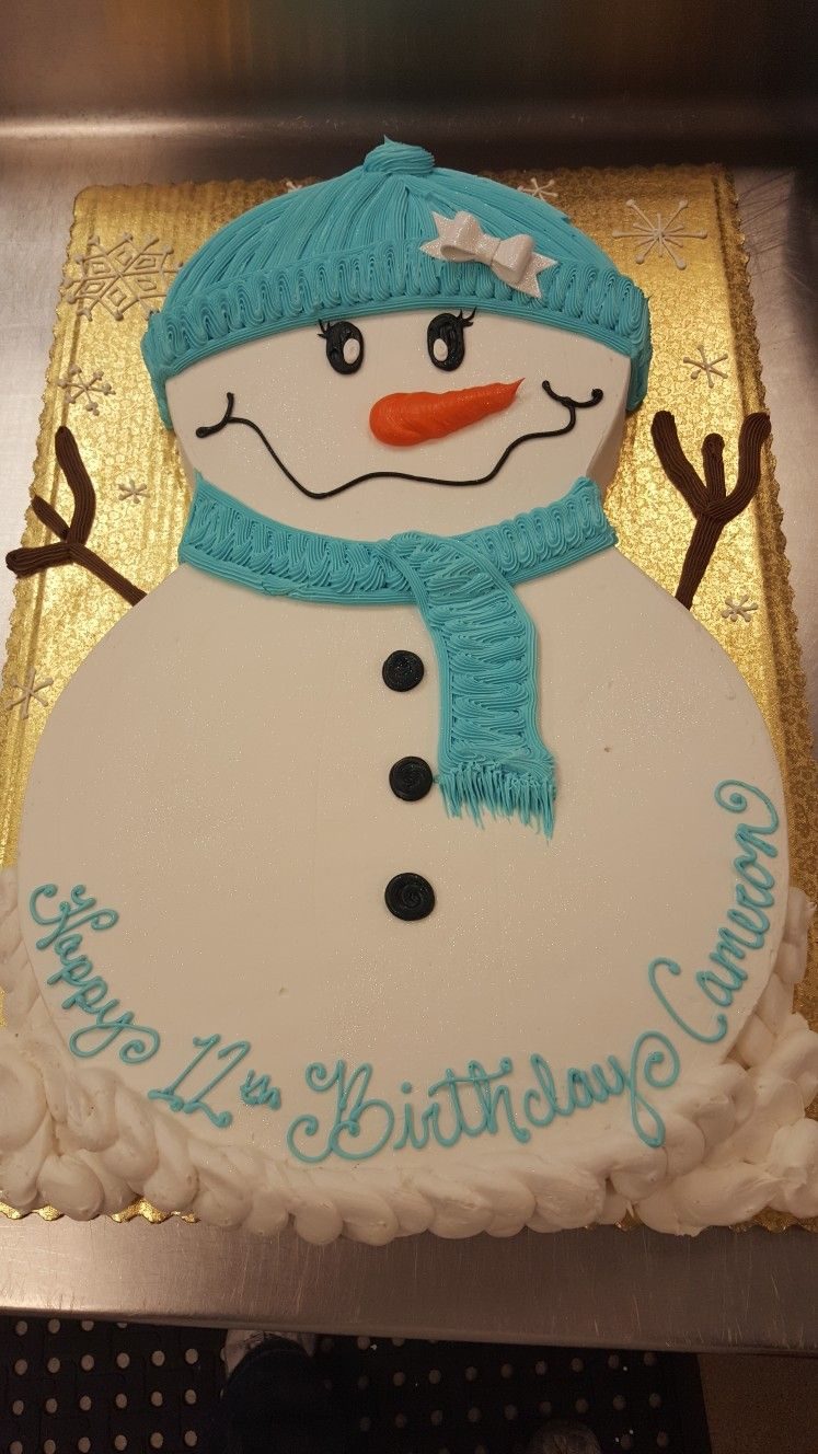 Admirable Snowman Cake With Images Snowman Birthday Cake Snowman Cake Personalised Birthday Cards Petedlily Jamesorg