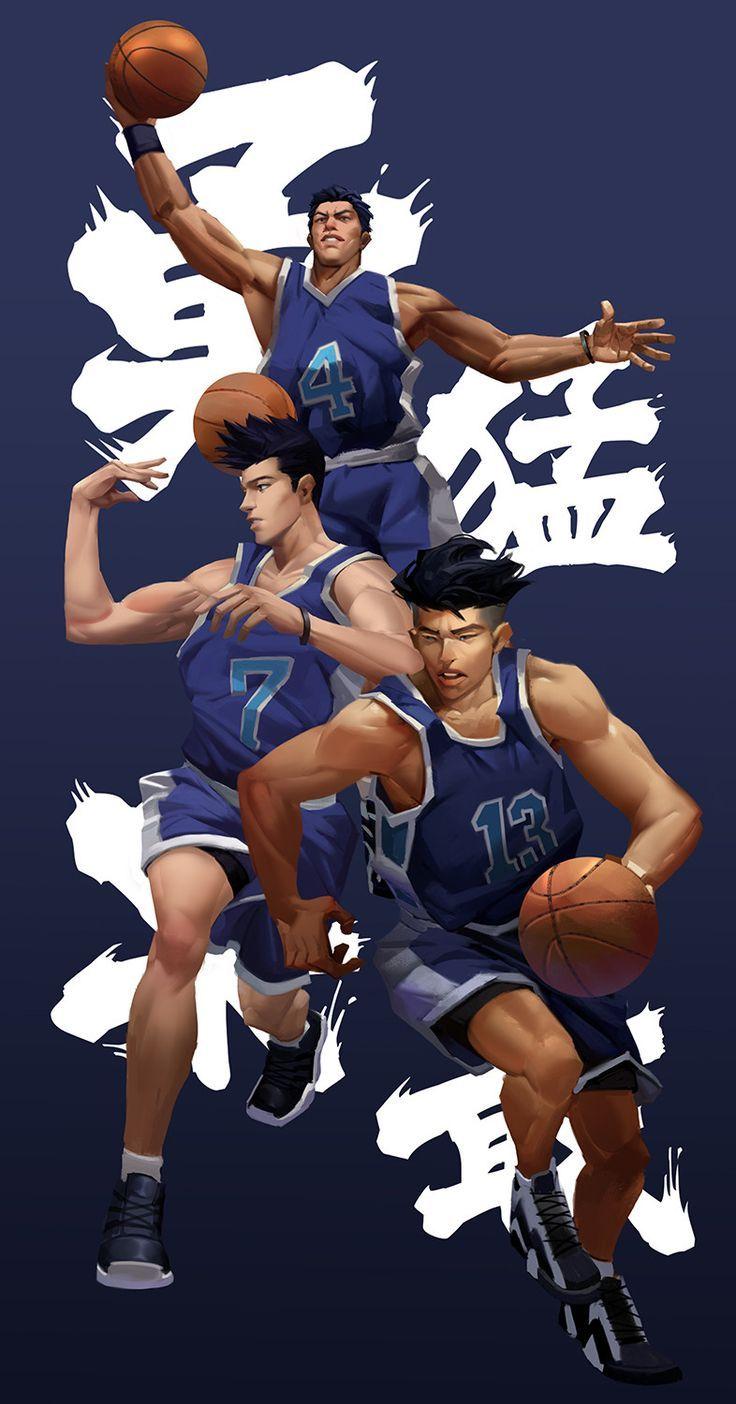 Slam Dunk Ryonan Slam dunk, Slam dunk anime, Slam dunk