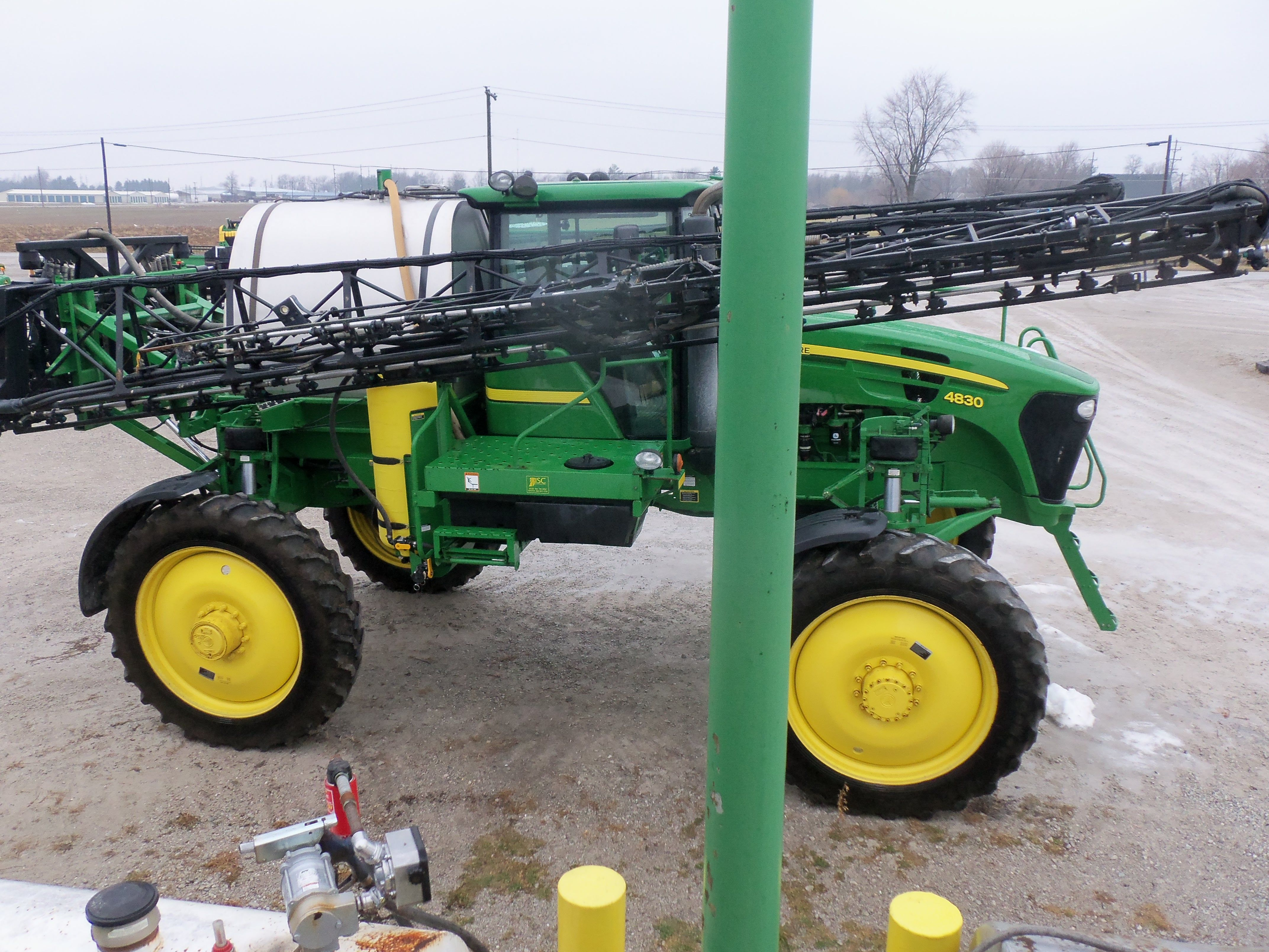Pin On Tri Green Tractor In Flora