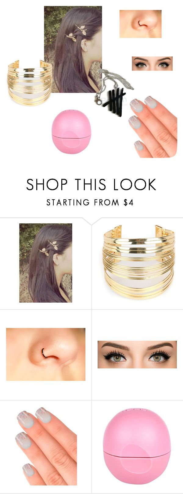 """""""Untitled #17"""" by leganhemmings1996 ❤ liked on Polyvore featuring beauty, WithChic, Elegant Touch and River Island"""