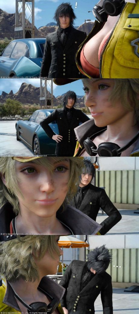 Busted Final Fantasy Xv Best Funny Pictures Final Fantasy