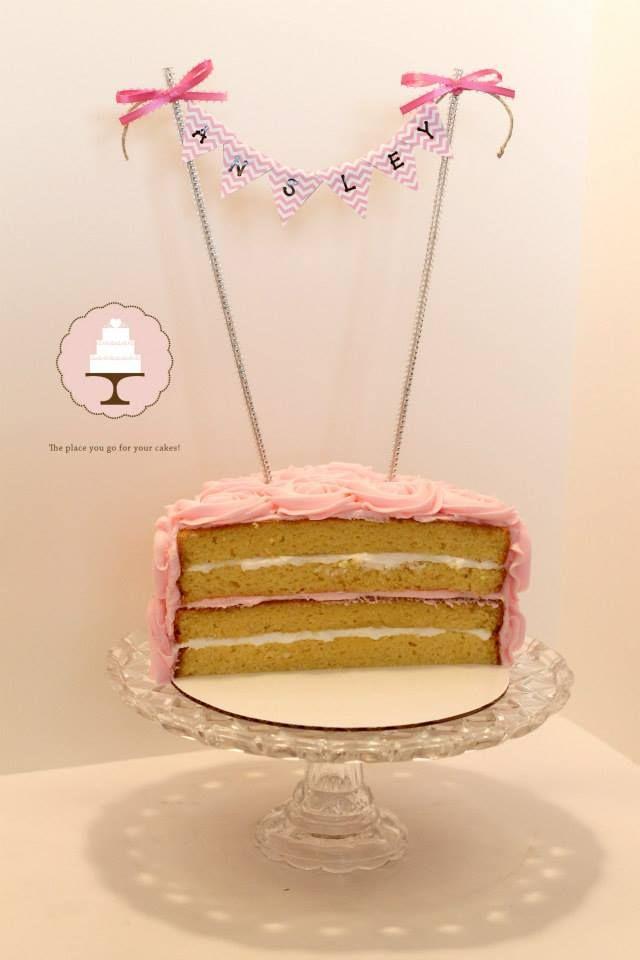 Half Cake Smash 6 Month Old