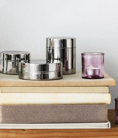 Metal box with a lid #HMHome