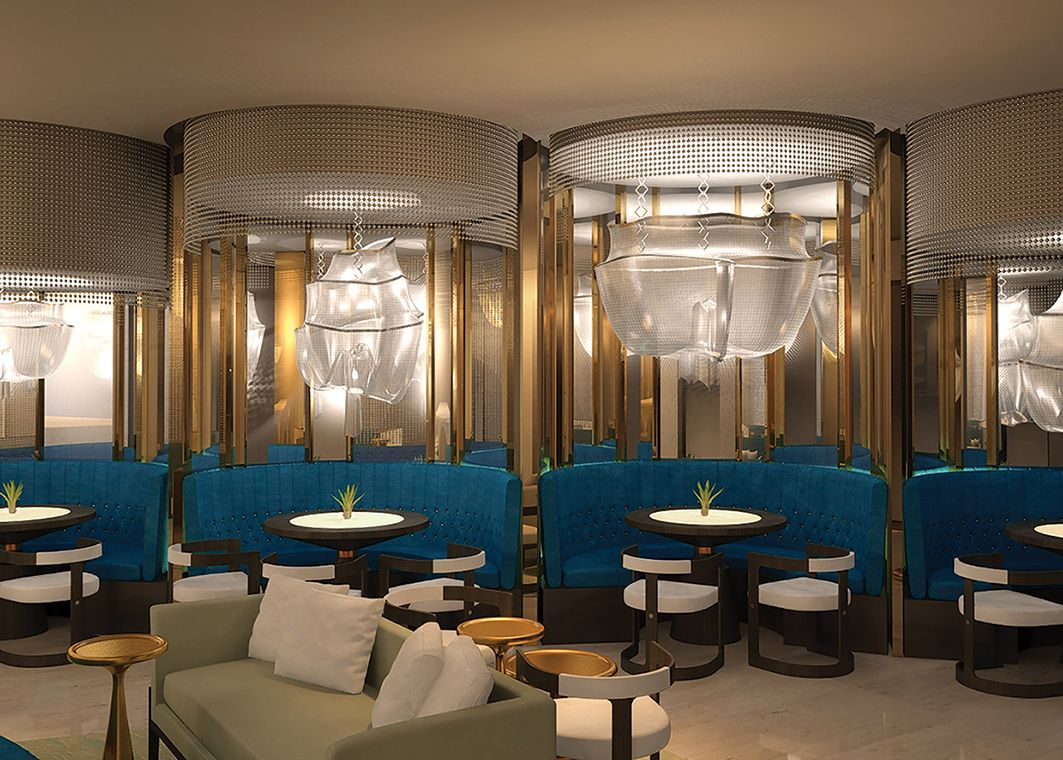 Champagne Bar Design