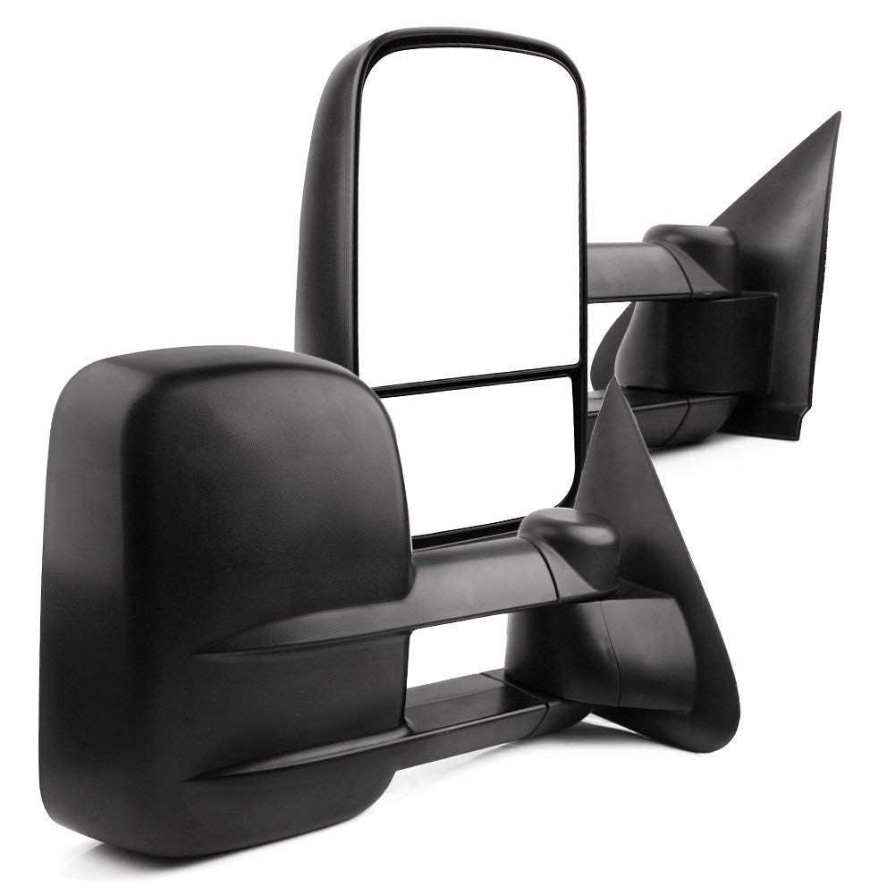 Yitamotor Power Towing Mirrors For 1997 2003 Ford F 150 2004 F 150 Heritage 1997 1999 F 250 Light Duty Pair Power Adjusted Telescoping Tow Mirrors Side Mirror
