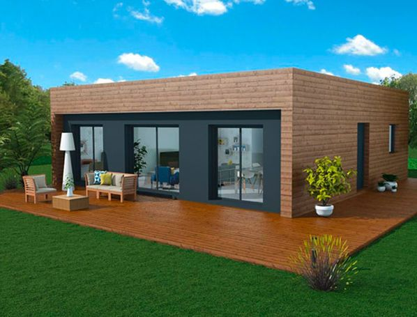 16 modèles de maisons à ossature bois archi-design, à prix direct
