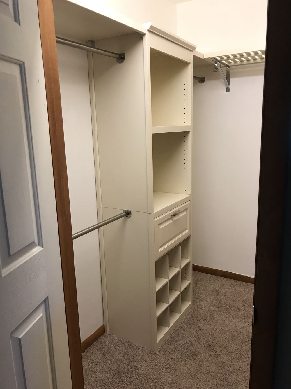 Allen Roth Closet System For Small Walk In Closet Small Closet Design, Walk  In Closet