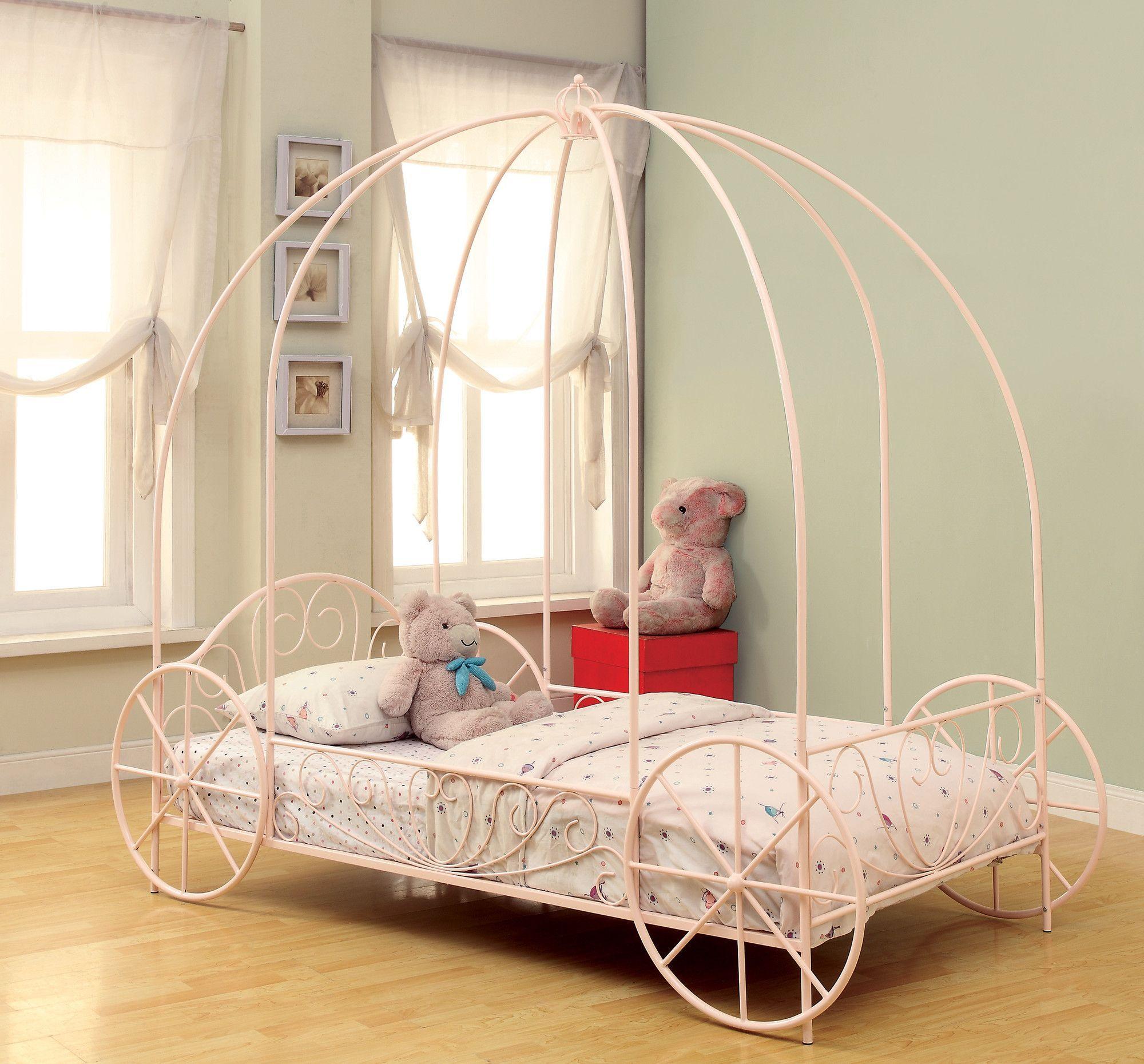 Wildon home twin canopy bed scarlett pinterest twin canopy
