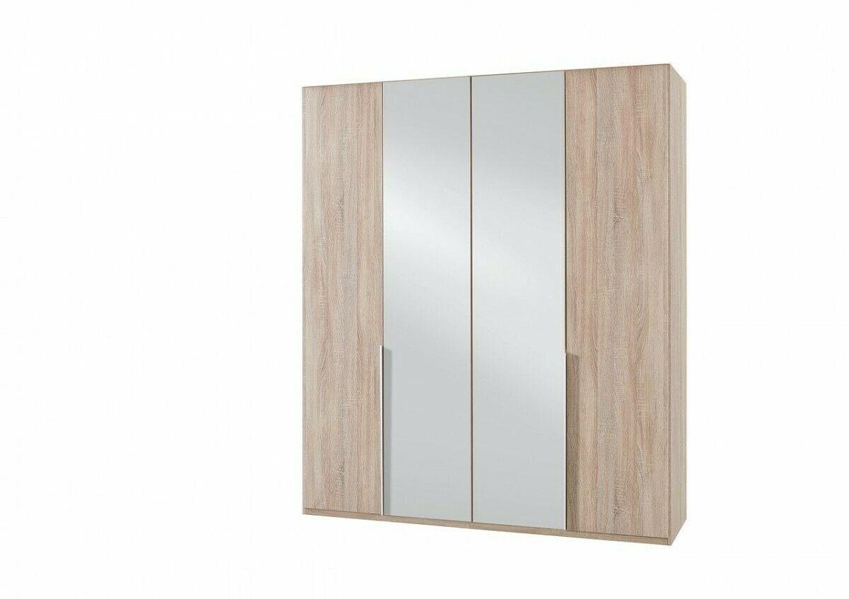 Kleiderschrank Yorksh Ii Schrank 2 Spiegeltur Einlegeboden