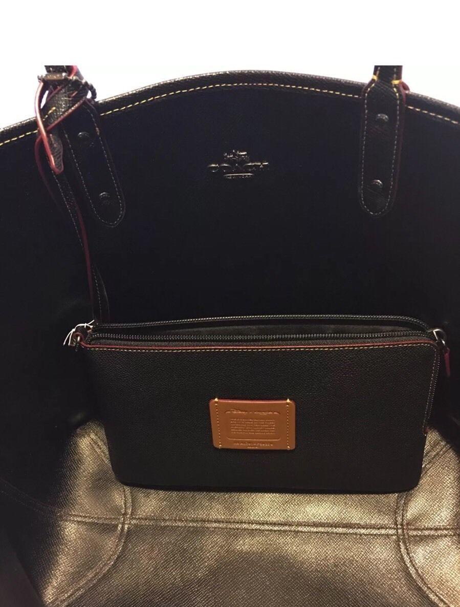 Coach Disney Limited Ed Mickey Bandana Print Reversible City Tote Handbag F59376 199 99
