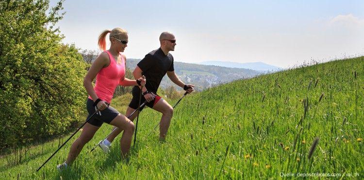 Nordic Walking: Trendsportart oder Sport für Faule?