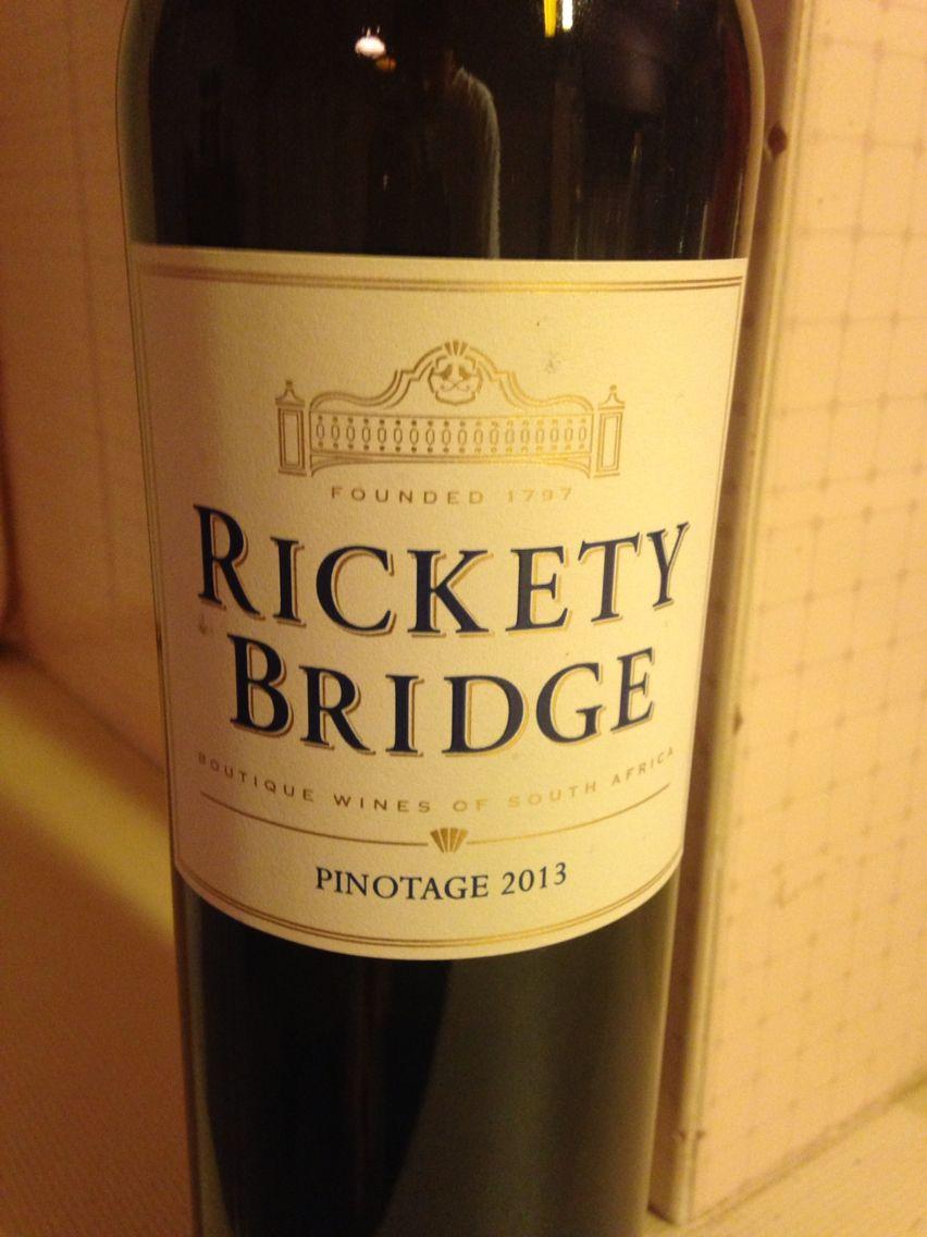 Ricket Bridge - Pinotage - Franschhoek SA