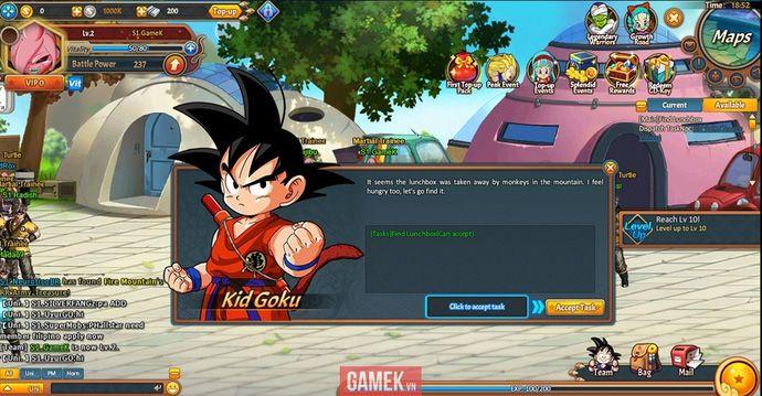 Dragon Ball Z Online Tua Game 7 Vien Ngoc Rong Cuc Chat Dragon Ball Z Dragon Game