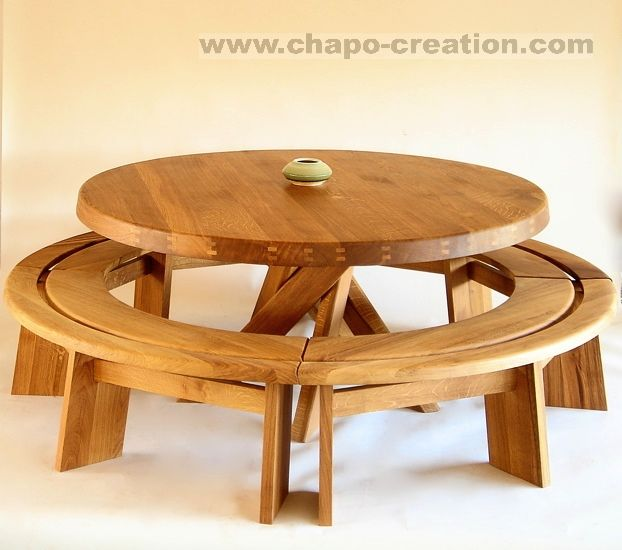 Banc Rond 1 4 De Rond Espace Chapo Chapo Creation Mobilier De Salon Vintage Design Idees Pour La Maison