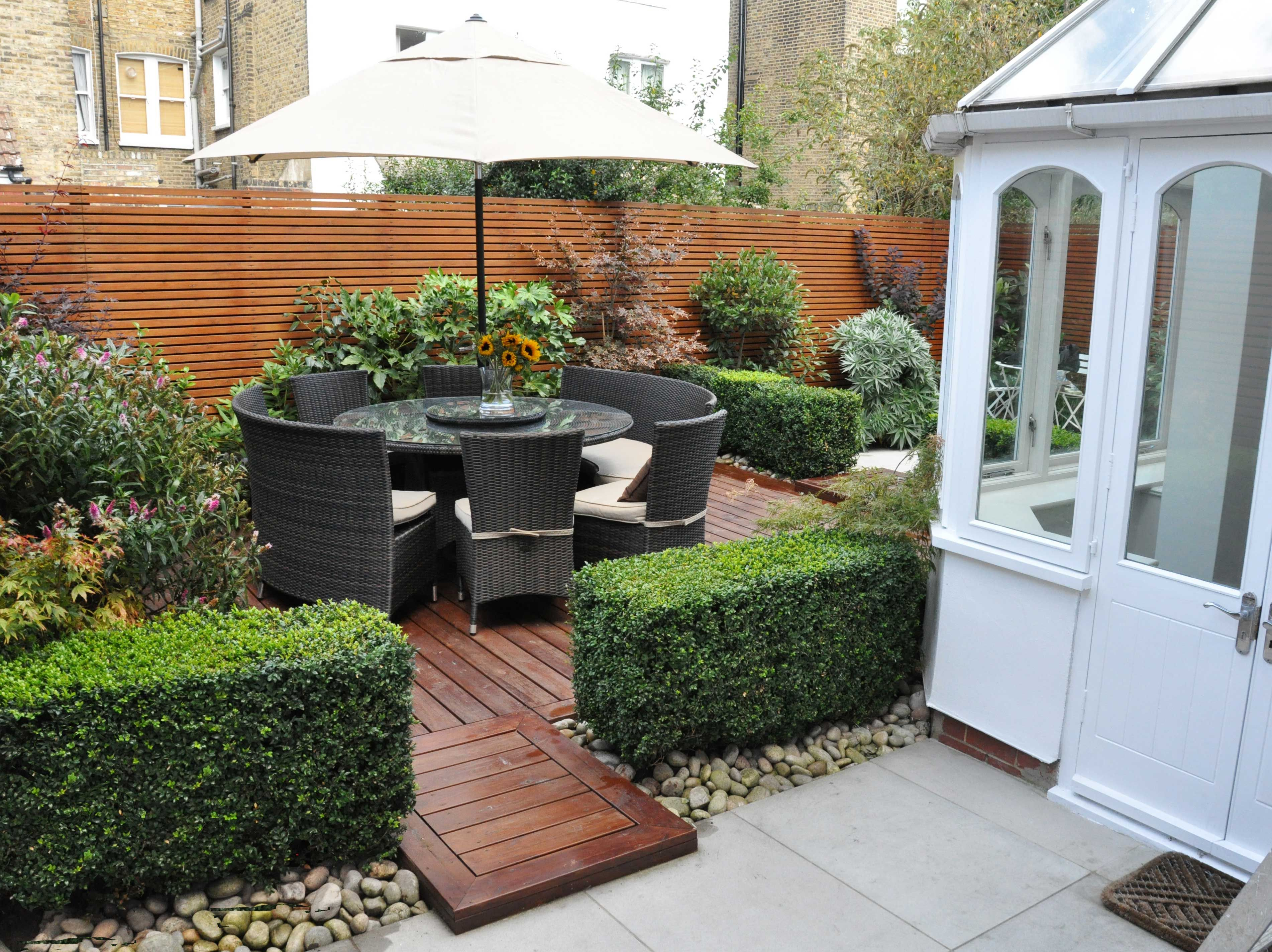 our design for this clapham garden sought to make smart use of its