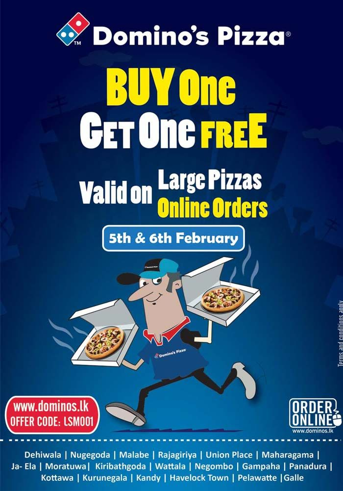 Enjoy A Free Large Pizza Today For Online And Mobile App Orders
