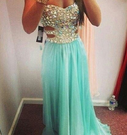 I absolutely love this dress.