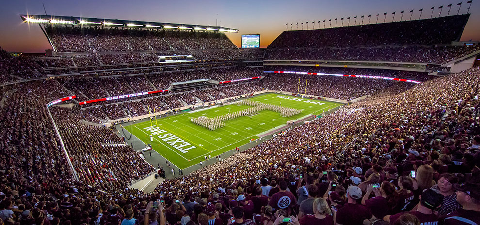 Pin By Barry On Ios 14 In 2020 Kyle Field Field Aggie Football