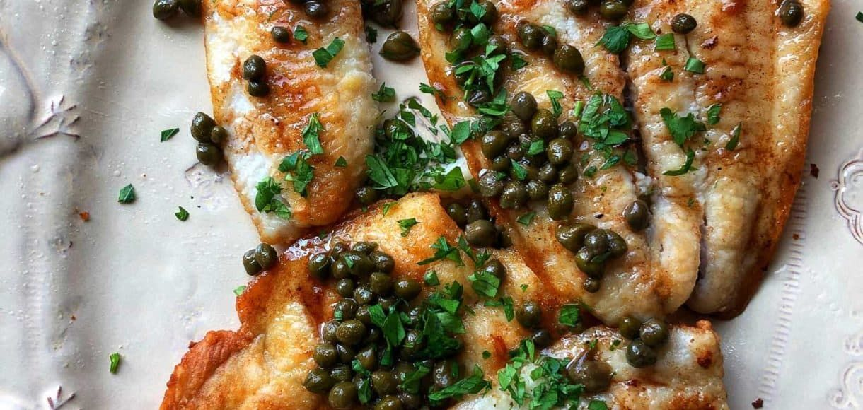 Sole Meunière Recipe (With images) Recipes, Sole recipes