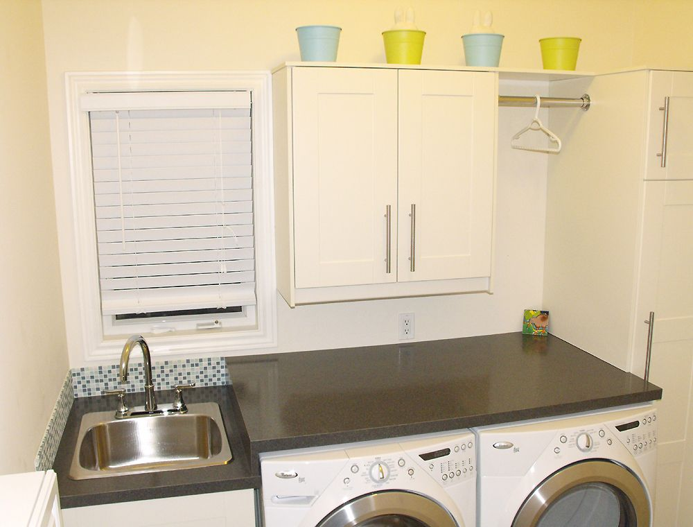Laundry Room Ikea Adel White Cabinet Laundry Room Working