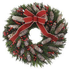 Cabin Life IV 18'' Wreath