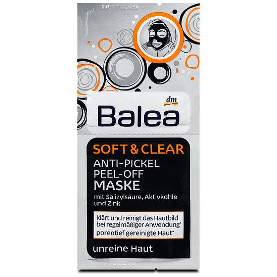 Image result for Balea soft & clear anti pickel peel off ...