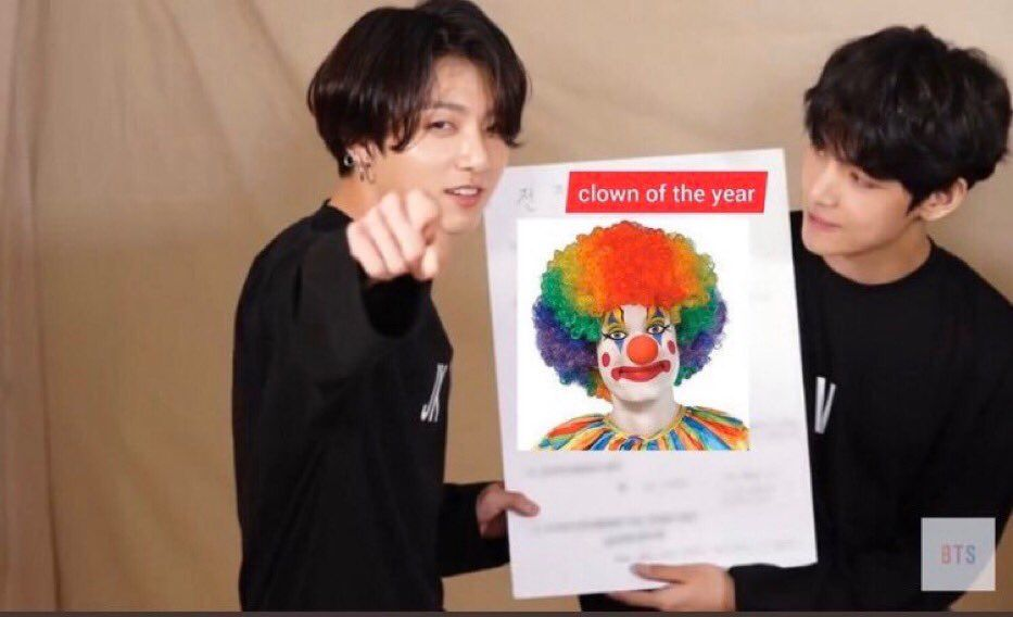 T E A R On Twitter Funny Kpop Memes Clown Meme Meme Faces