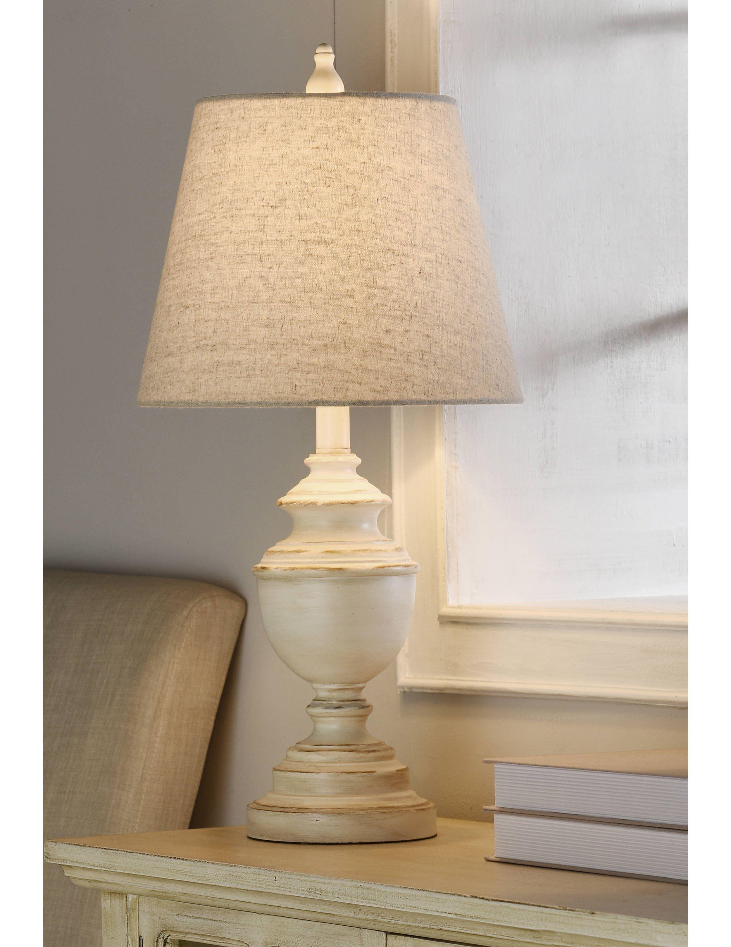 Distressed Cream Table Lamp Table Lamp Cream Lamps Cream Table