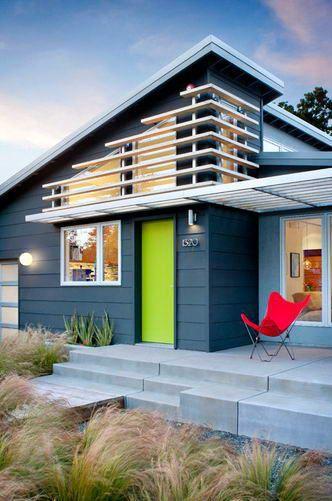 Small Exterior Design Ideas Mid Century Modern Exterior House Paint Exterior Modern House Exterior