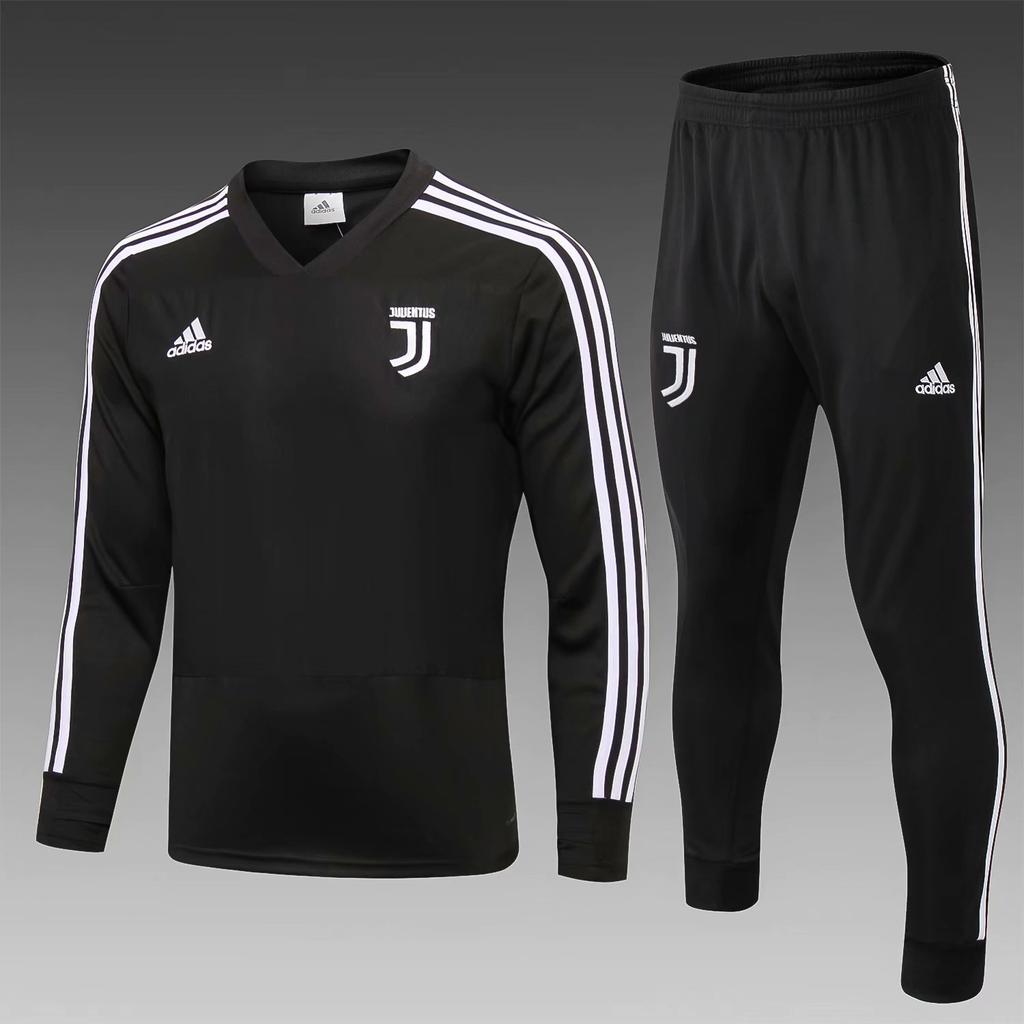 13d104d12 Juventus 18 19 Black Men Tracksuit Slim Fit in 2019