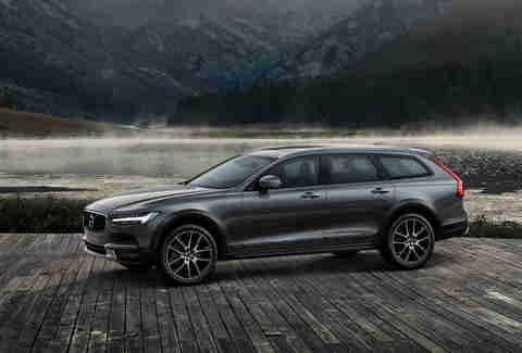 Volvo V90 Cross Country V90 Cross Country Price 55 300 Take The Already Pretty Good S90 Sedan Itself A Swedish Middle Fin Volvo Wagon Volvo Volvo Estate