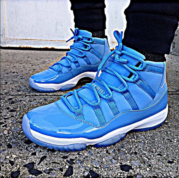 the best attitude 6657e a7f56 ... Cool Air Jordan 11 Pantone on foot,cheap Pantone 11s for sale at 129.99  ...