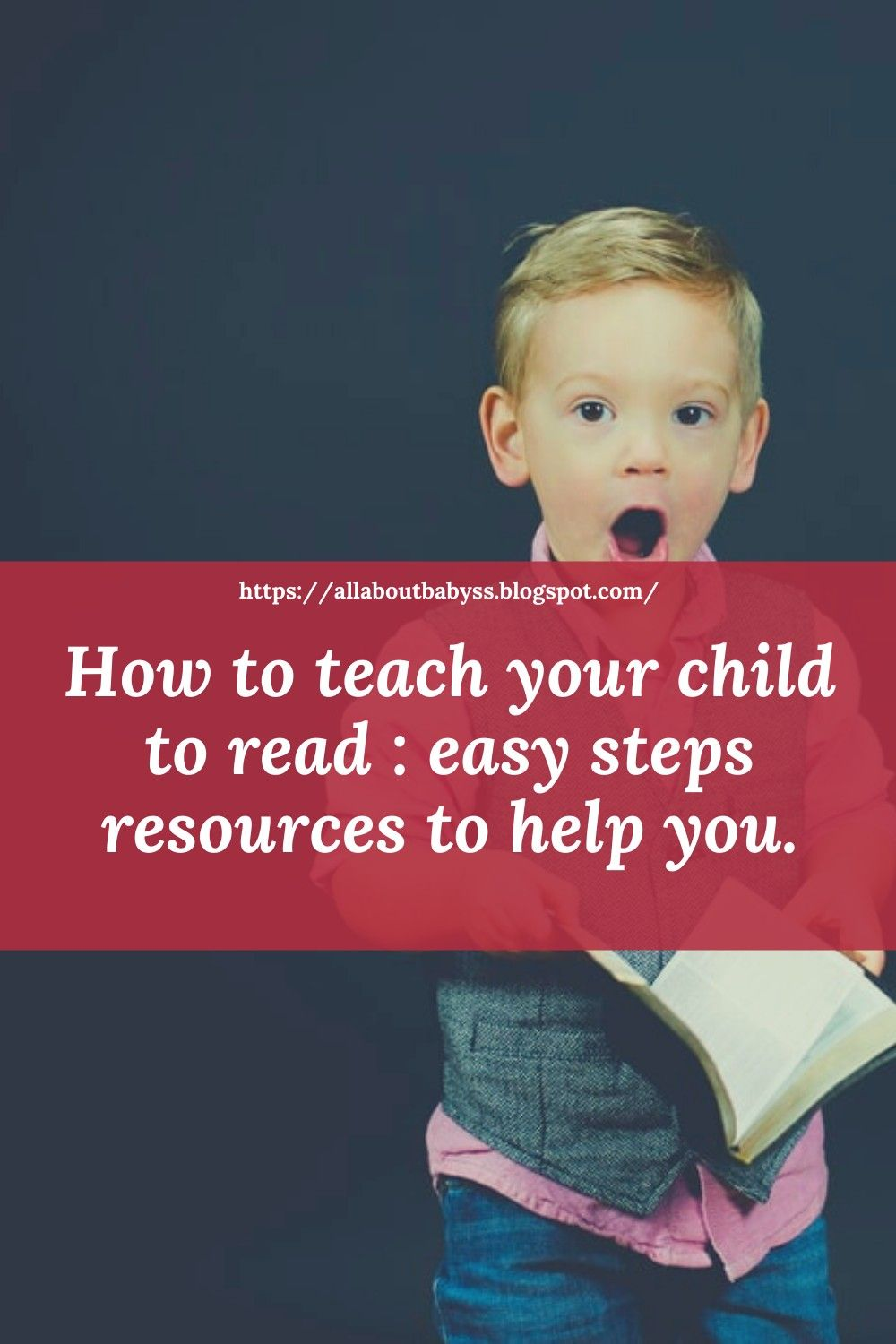 The Most Simple Easy Fast Way To Teach Your Child To Read Baby Reading Toddler Activities Baby Reading Corner How to help year old with reading