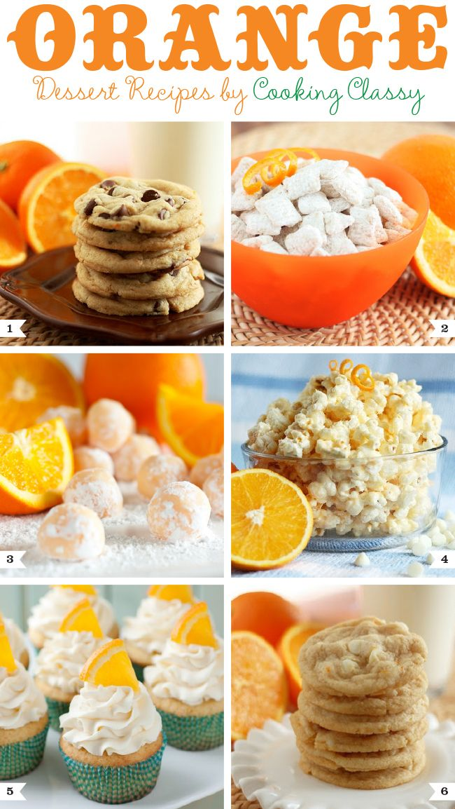 Orange dessert recipes by cooking classy chocolate for Easy party desserts recipes