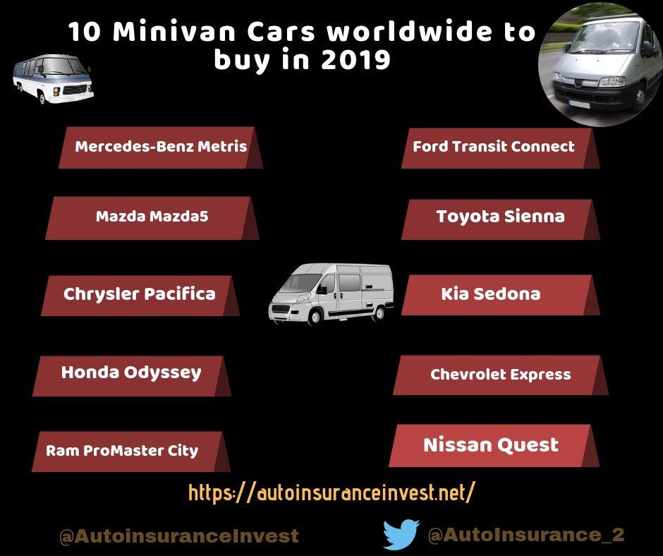 10 Popular Minivan Cars Worldwide To Buy In 2019 Mini Van Ford