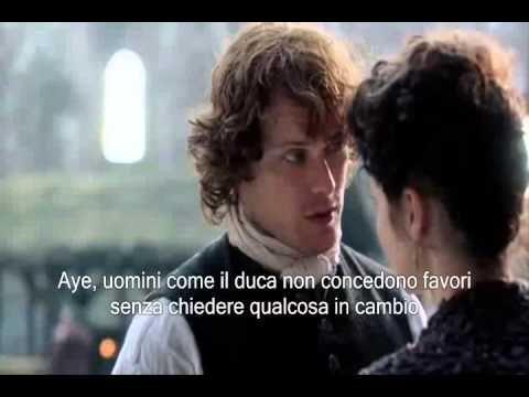 Outlander -1x10- Deleted Scene_'Jamie comforts Claire'(Sottotitolato in Italiano) - YouTube