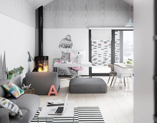 Take a step inside these three homes for clean lines simple colors and the lovely functionality of scandinavian style