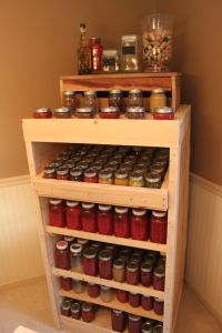 Preparing for Canning Time - Stocking The Shelves