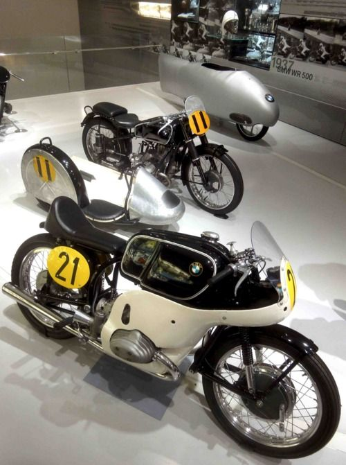 Vintage BMW Motorcycle Cafe Racers