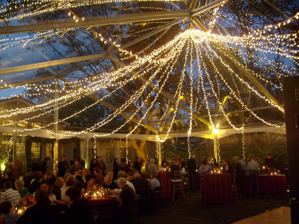 light canopy for the dance floor? & Clear Tent Twinkie Chandelier | Light canopy Tents and Clear tent