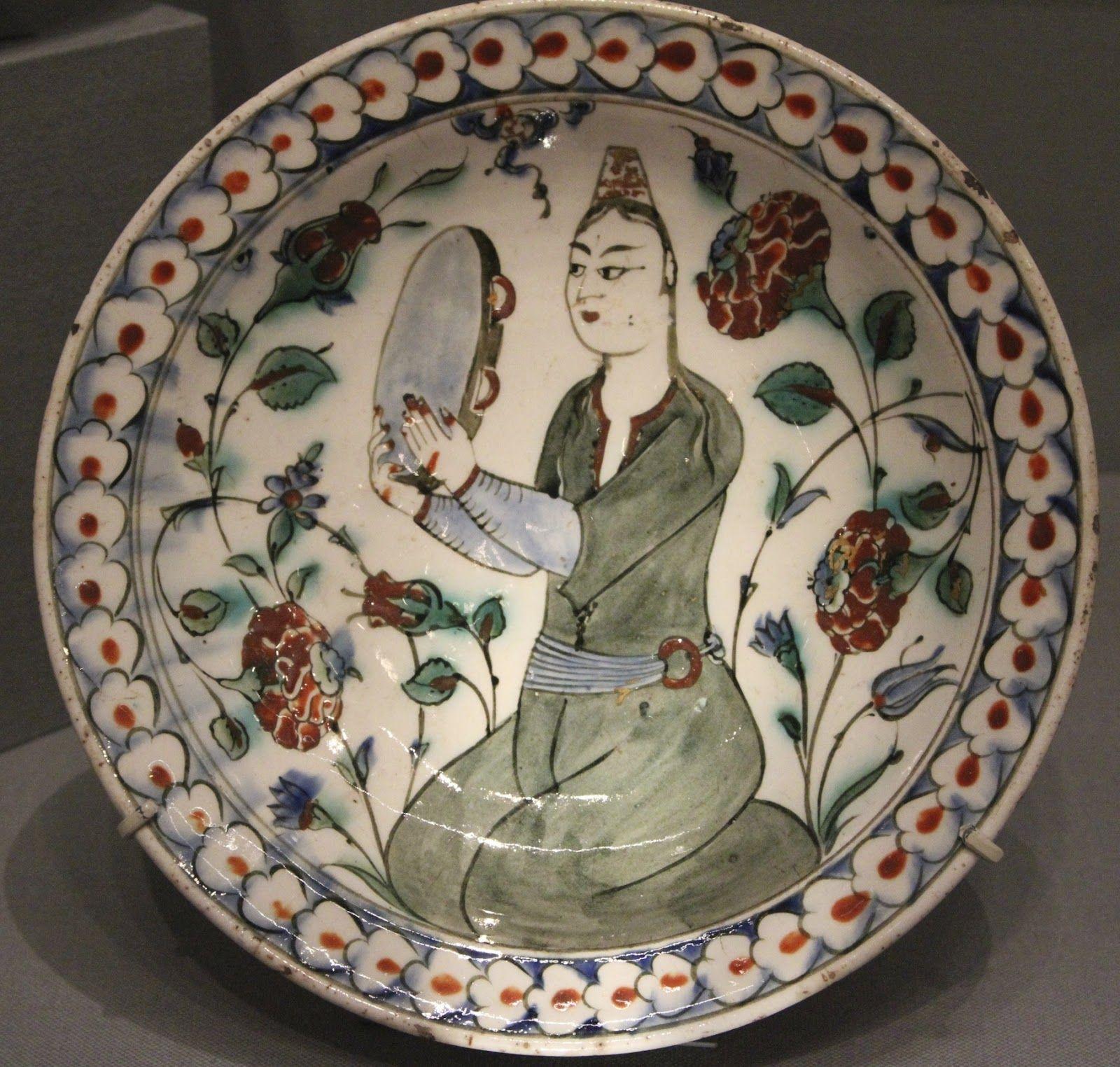 amazing Ottoman plate