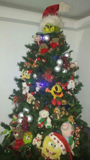 árbol De Navidad Decorado Con Peluches árboles De Navidad