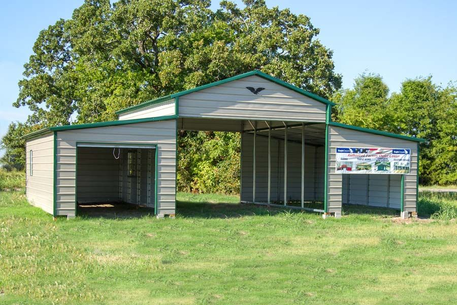 This is an example of an Eagle Horse Barn. This one is