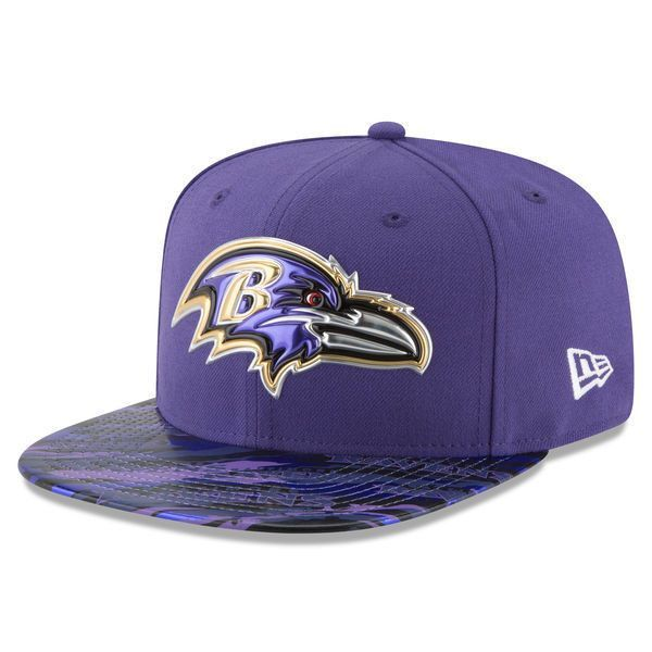 328fcd315a1 NFL Baltimore Ravens New Era Purple Color Rush On-Field Original Fit 9FIFTY  Snapback Adjustable Hat