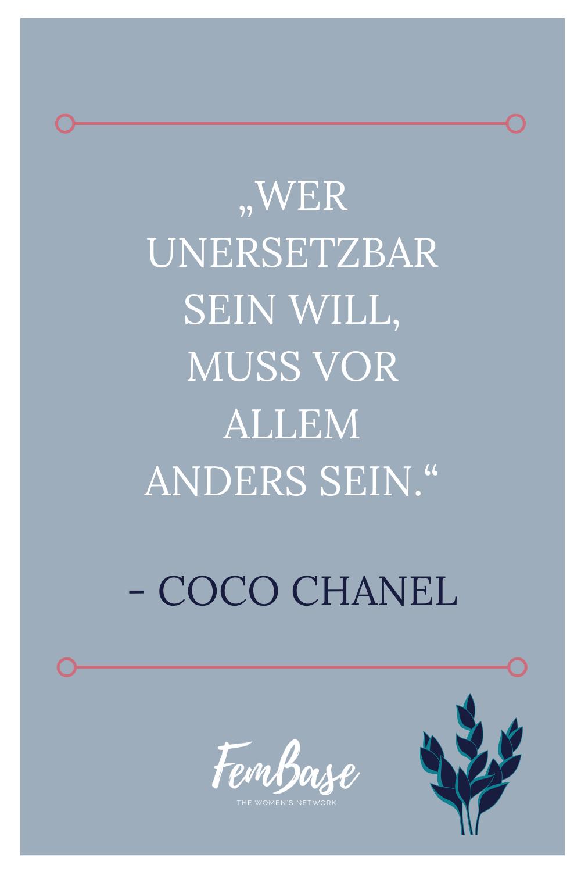 Chanel zitat alter frau coco Coco Chanel