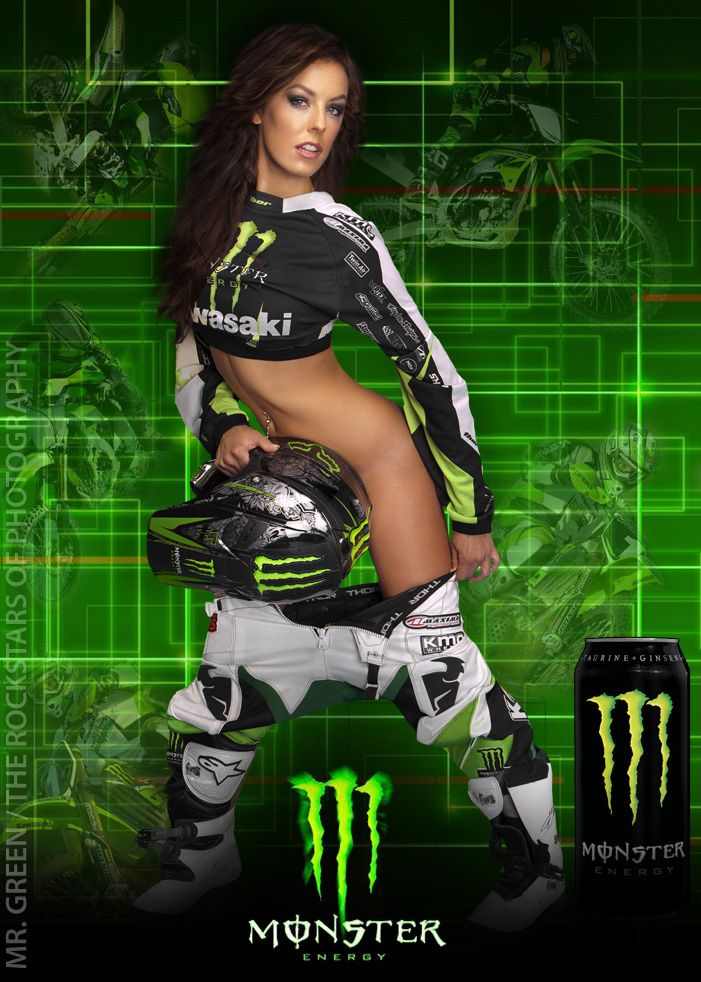 Apologise, but naked monster energy women question something