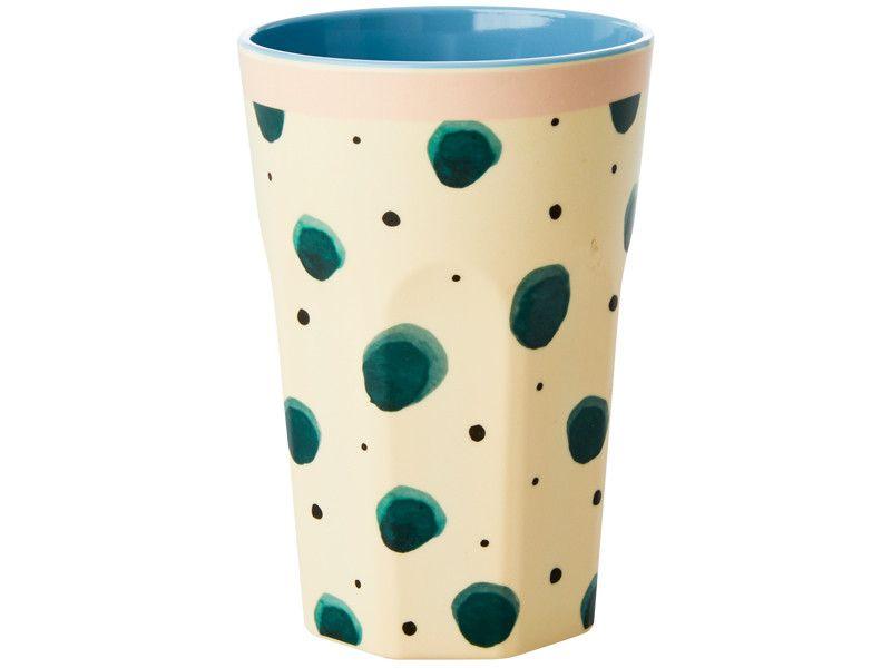 RICE Latte Macchiato Becher WATERCOLOR SPLASH #lattemacchiato
