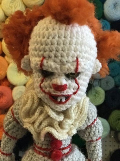 Pennywise the Dancing Clown pattern by Allison Hoffman | Pinterest ...