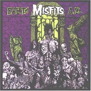 The Misfits Earth A.d Records, LPs, Vinyl and CDs - MusicStack